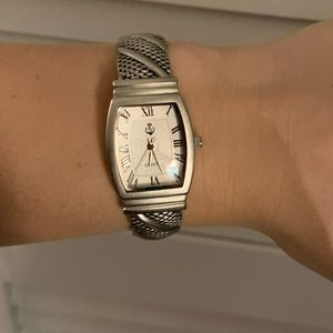 Silver Clasp Watch-BRAND NEW BATTERY!